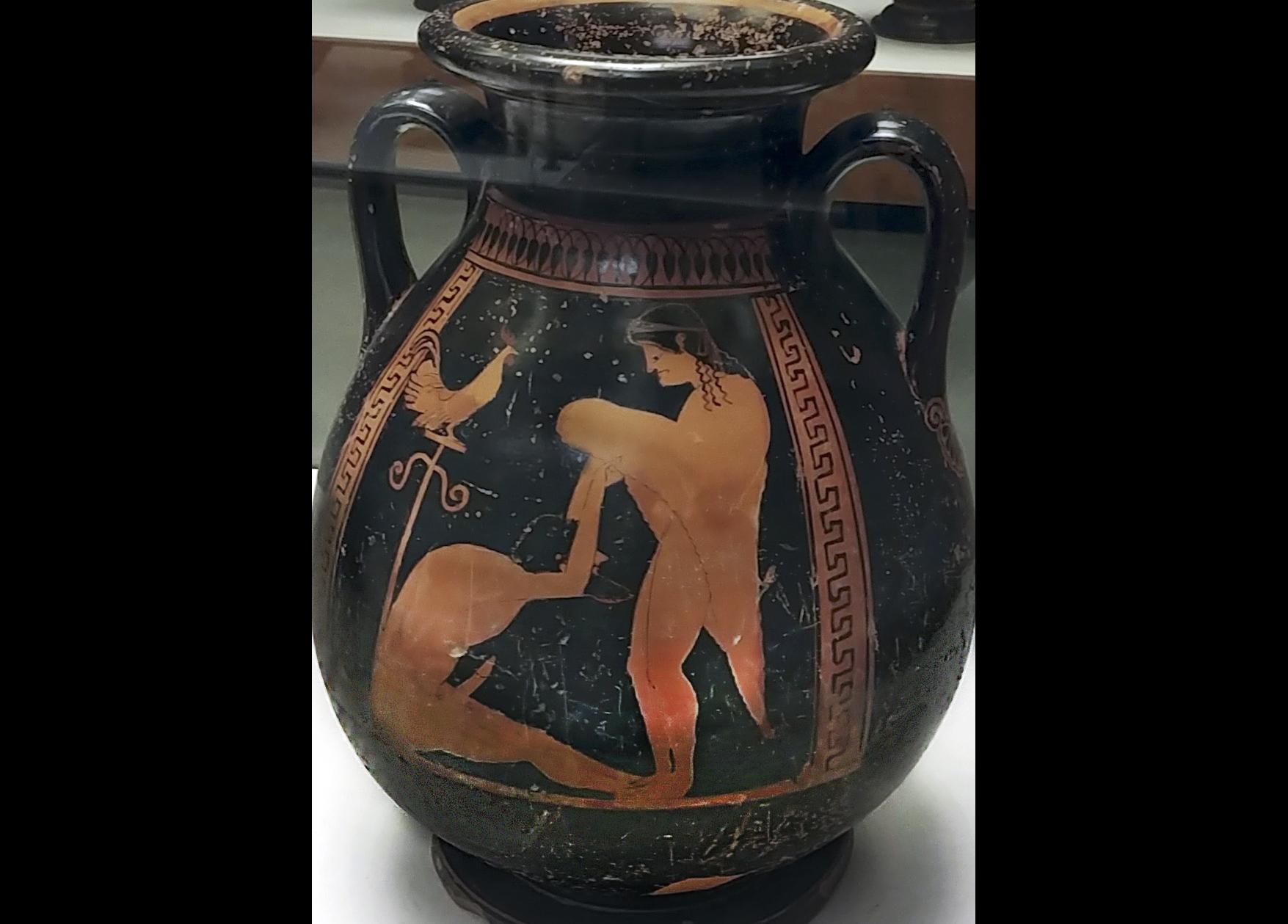 Il Senso Degli Etruschi Per L Eros Tra Pitture Murali E Ceramiche