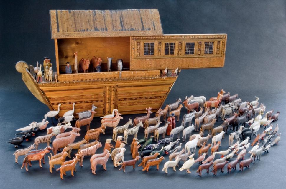 Arca di Noè con 165 animali