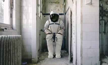 Astronauta in pausa