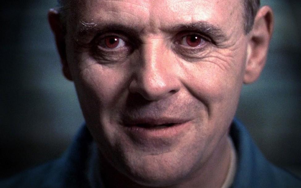 Anthony Hopkins è Hannibal Lecter ne Il Silenzio degli Innocenti