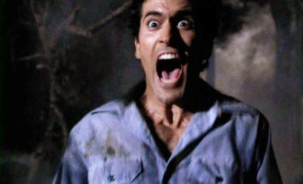 """The Scream King: Bruce Campbell ne """"La Casa"""" (""""The Evil Dead"""") di Sam Raimi, 1981"""