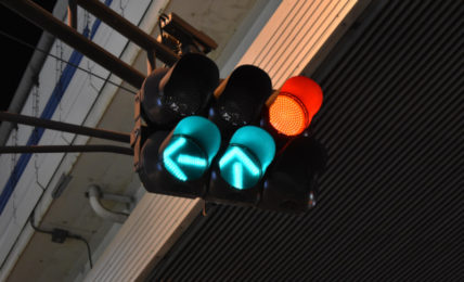 """Turn on traffic light"" by Alex King"